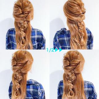 ヘアアレンジ 三つ編み 上品 エレガント ヘアスタイルや髪型の写真・画像 ヘアスタイルや髪型の写真・画像