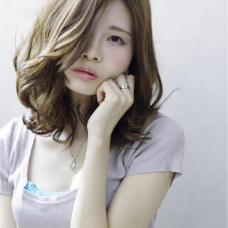 外国人風 ゆるふわ フェミニン ピュア ヘアスタイルや髪型の写真・画像