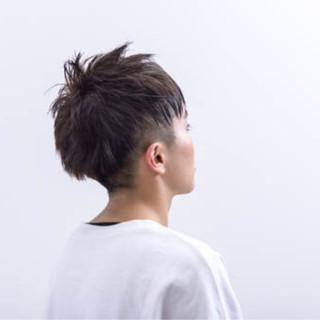黒髪 ショート モード ベリーショート ヘアスタイルや髪型の写真・画像