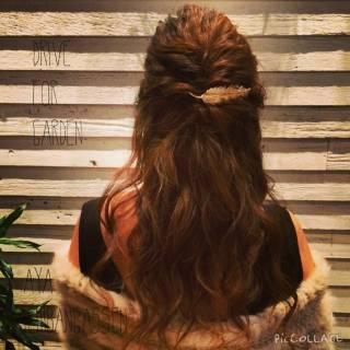 コンサバ 三つ編み 結婚式 ヘアアレンジ ヘアスタイルや髪型の写真・画像