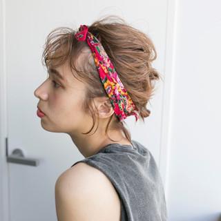 ショートボブ ナチュラル アンニュイほつれヘア ショート ヘアスタイルや髪型の写真・画像