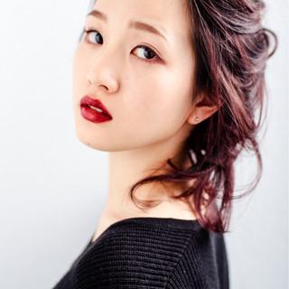 ハイライト 簡単ヘアアレンジ ヘアアレンジ 大人女子 ヘアスタイルや髪型の写真・画像