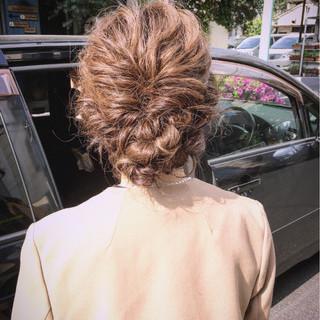 外国人風 セミロング モテ髪 大人かわいい ヘアスタイルや髪型の写真・画像