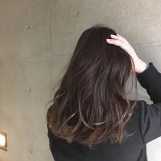 【アレンジ要らず♡】ストレートヘア×グラデーションが楽ちんお洒落