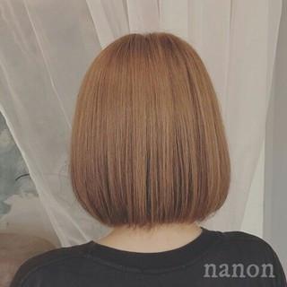 アッシュベージュ 外国人風 透明感 ボブ ヘアスタイルや髪型の写真・画像 ヘアスタイルや髪型の写真・画像