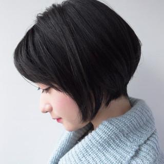 ショート 大人かわいい 春 ショートボブ ヘアスタイルや髪型の写真・画像 ヘアスタイルや髪型の写真・画像