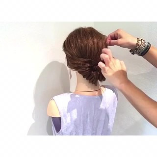 涼しげ 夏 結婚式 女子会 ヘアスタイルや髪型の写真・画像