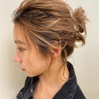 ショートボブ ボブ 透明感カラー ミルクティーベージュ ヘアスタイルや髪型の写真・画像