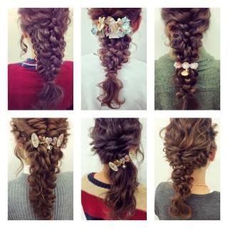 簡単ヘアアレンジ ゆるふわ ルーズ フェミニン ヘアスタイルや髪型の写真・画像 ヘアスタイルや髪型の写真・画像