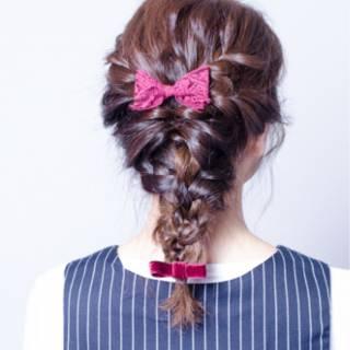 ナチュラル ショート 大人かわいい 簡単ヘアアレンジ ヘアスタイルや髪型の写真・画像