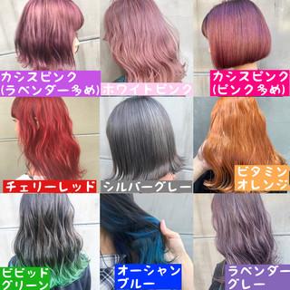 ナチュラル 簡単ヘアアレンジ ブリーチ 成人式 ヘアスタイルや髪型の写真・画像