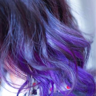 バレイヤージュ 外国人風カラー ボブ ストリート ヘアスタイルや髪型の写真・画像 ヘアスタイルや髪型の写真・画像