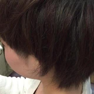 色気 ナチュラル マッシュ アッシュ ヘアスタイルや髪型の写真・画像