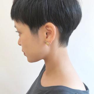 ショートヘア ショートボブ ベリーショート マッシュショート ヘアスタイルや髪型の写真・画像