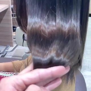 ナチュラルグラデーション セミロング ナチュラル ハイトーン ヘアスタイルや髪型の写真・画像