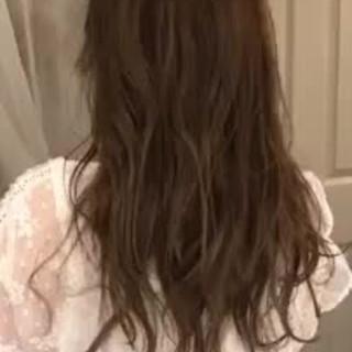 外国人風 ハイライト 大人かわいい エレガント ヘアスタイルや髪型の写真・画像