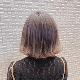 ナチュラル ボブ 圧倒的透明感 ショートボブ ヘアスタイルや髪型の写真・画像
