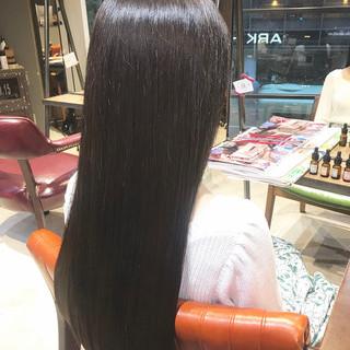 暗髪 トリートメント 大人可愛い ラベンダーアッシュ ヘアスタイルや髪型の写真・画像