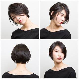 ショートボブ ボブ 阿藤俊也 ハンサムショート ヘアスタイルや髪型の写真・画像