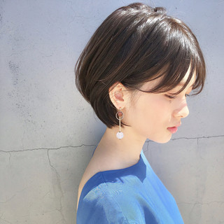 ナチュラル ショート ヘアアレンジ 簡単ヘアアレンジ ヘアスタイルや髪型の写真・画像 ヘアスタイルや髪型の写真・画像