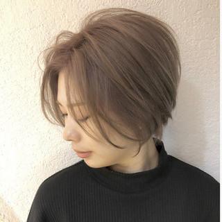 ストリート ショートヘア ショートボブ ショート ヘアスタイルや髪型の写真・画像