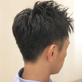 メンズ ショート メンズカット コンサバ ヘアスタイルや髪型の写真・画像