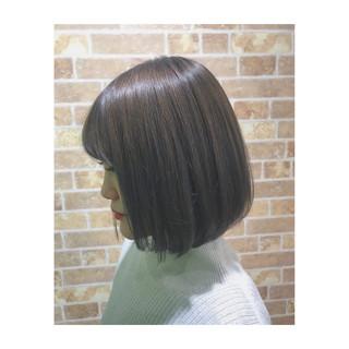 ブリーチ ボブ 春 透明感 ヘアスタイルや髪型の写真・画像