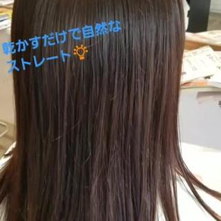 ナチュラル 透明感 ロング パーマ ヘアスタイルや髪型の写真・画像 ヘアスタイルや髪型の写真・画像