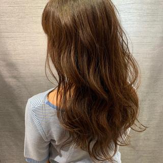 大人女子 圧倒的透明感 グラデーションカラー ロング ヘアスタイルや髪型の写真・画像