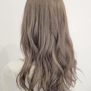 ロング 大人かわいい 外国人風 ハイライト ヘアスタイルや髪型の写真・画像