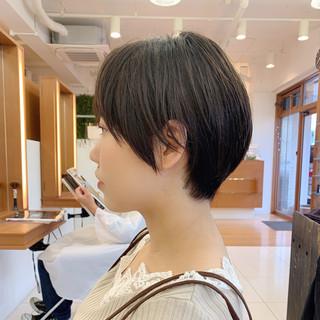 ナチュラル 可愛い 大人ショート ショートヘア ヘアスタイルや髪型の写真・画像
