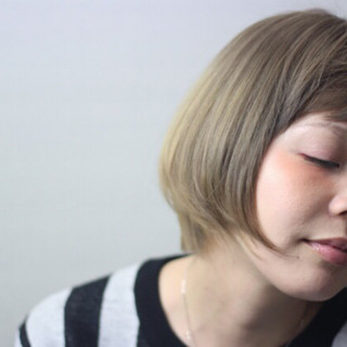 ボブ 外国人風 フェミニン ピュア ヘアスタイルや髪型の写真・画像