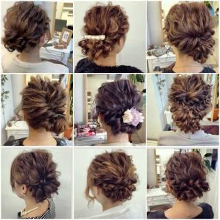 ヘアアレンジ ゆるふわ 簡単ヘアアレンジ フェミニン ヘアスタイルや髪型の写真・画像 ヘアスタイルや髪型の写真・画像