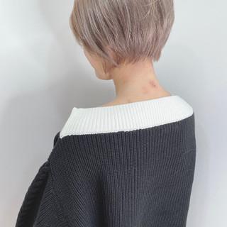 外国人風カラー ボブ おしゃれさんと繋がりたい モード ヘアスタイルや髪型の写真・画像