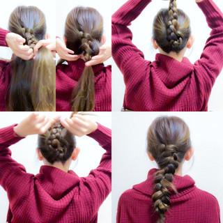 ヘアアレンジ セルフヘアアレンジ 簡単ヘアアレンジ ロング ヘアスタイルや髪型の写真・画像 ヘアスタイルや髪型の写真・画像