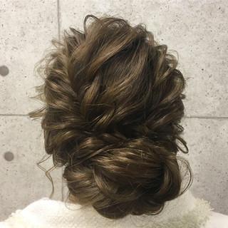 エレガント 結婚式 上品 アップスタイル ヘアスタイルや髪型の写真・画像