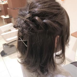 大人女子 ボブ ゆるふわ ショート ヘアスタイルや髪型の写真・画像