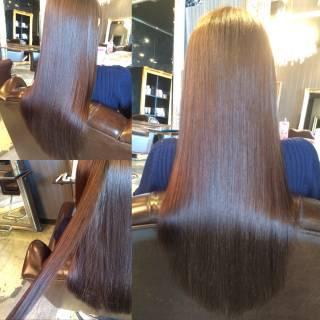 暗髪 外国人風 ストリート 春 ヘアスタイルや髪型の写真・画像