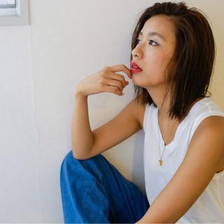 グラデーションカラー ボブ フェミニン 外国人風 ヘアスタイルや髪型の写真・画像