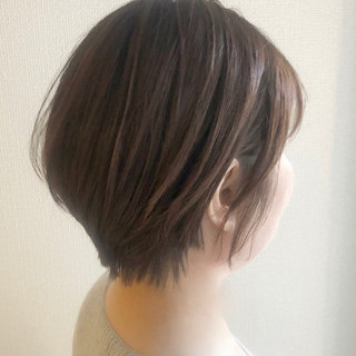 ショート ミニボブ 簡単ヘアアレンジ デート ヘアスタイルや髪型の写真・画像