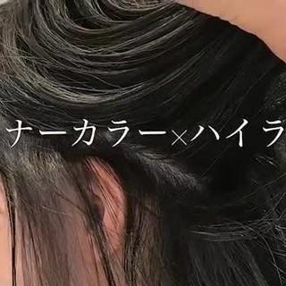 ハイライトならお任せ オージュアソムリエ岡田翼さんのヘアスナップ