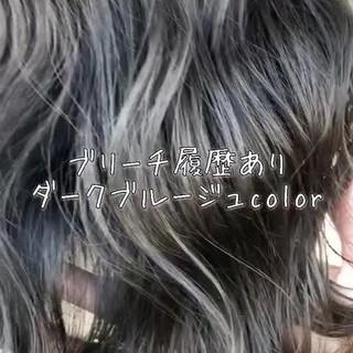 ロング フェミニン 外国人風カラー 外国人 ヘアスタイルや髪型の写真・画像
