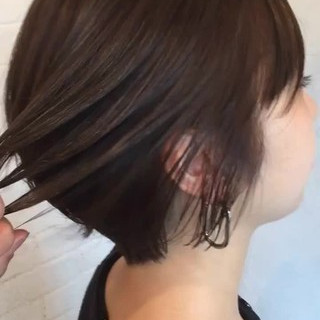 マツモト マサミさんのヘアスナップ