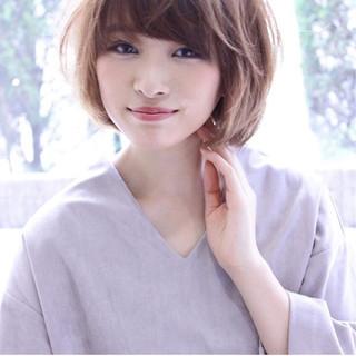 ショート こなれ感 小顔 冬 ヘアスタイルや髪型の写真・画像