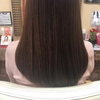 ナチュラル 艶髪 ロング トリートメント ヘアスタイルや髪型の写真・画像
