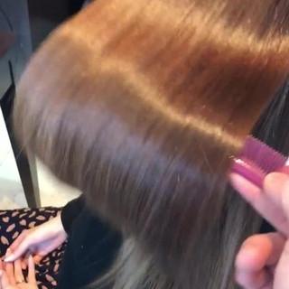横顔美人 ヘアケア トリートメント ロング ヘアスタイルや髪型の写真・画像 ヘアスタイルや髪型の写真・画像
