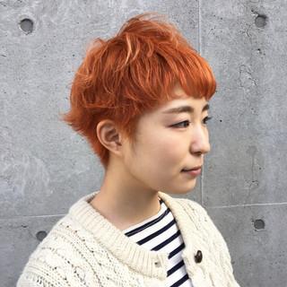 柳絵美子さんのヘアスナップ