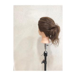 時短 簡単ヘアアレンジ ショート デート ヘアスタイルや髪型の写真・画像