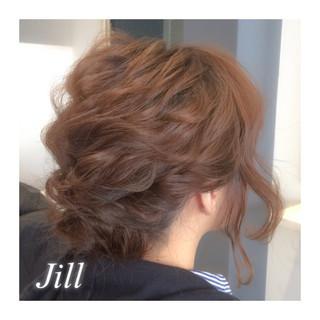 ルーズ アップスタイル ショート ゆるふわ ヘアスタイルや髪型の写真・画像