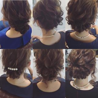 ミディアム ゆるふわ フェミニン 外国人風 ヘアスタイルや髪型の写真・画像